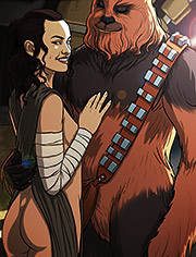 Star Wars parody: A complete guide to wookiee sex