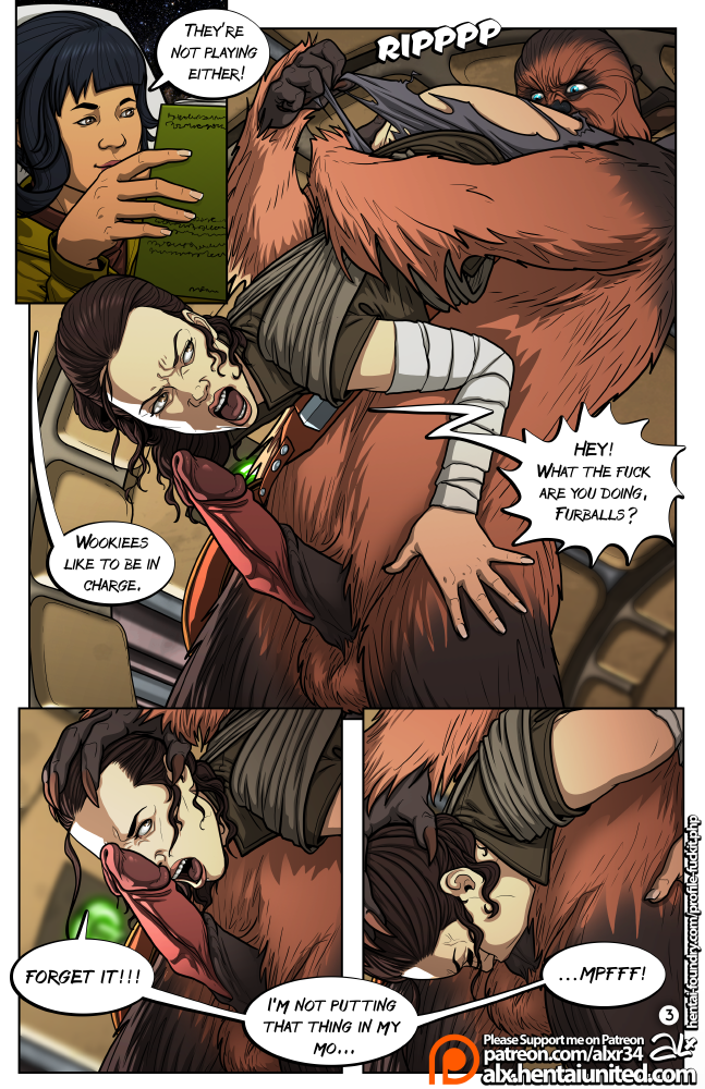 Wookiees are skillful lovers