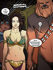 Star Wars – A complete guide to wookiee sex 2: I'm not your fucking slave