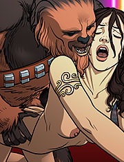 Star Wars – A complete guide to wookiee sex 2: Never waste your master's cum