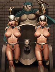 World fist by Ferres: Ferres is a master of both beautiful, erotic art and fascinating, science fiction wonderlands