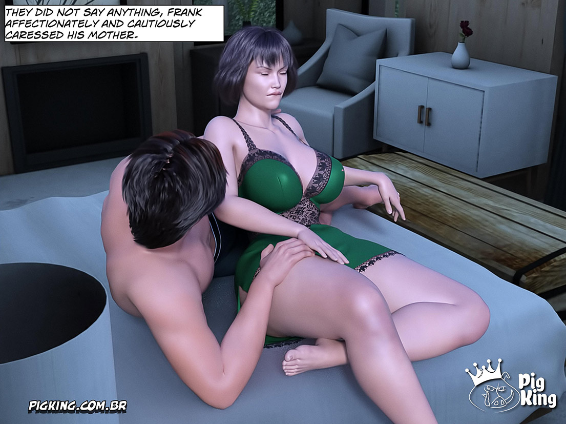 She was totally submissive to the pleasure of sex - Gammer 5 (Old woman) by Pig King
