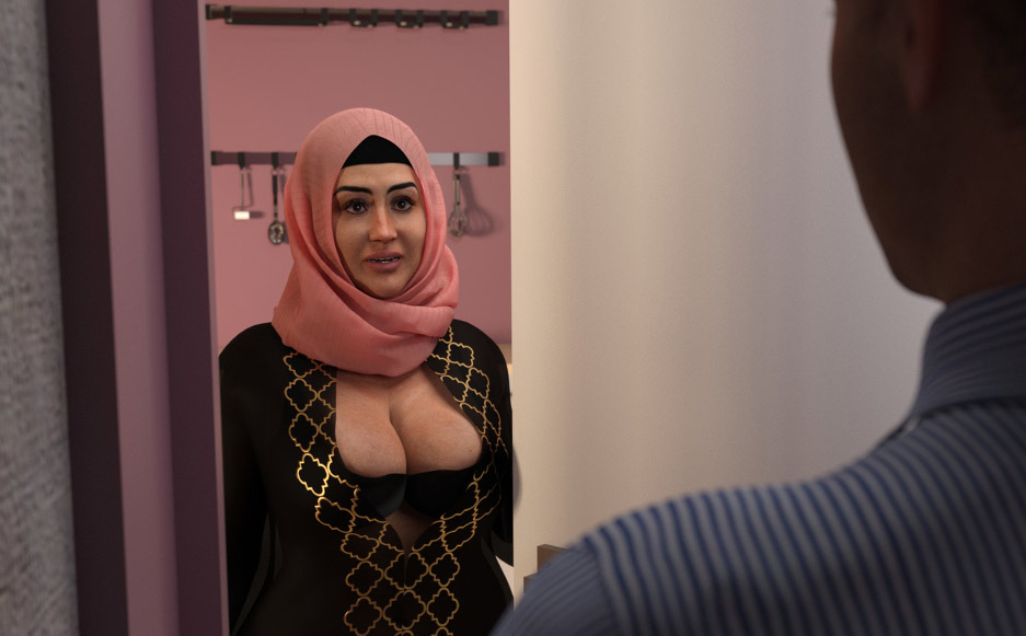 The way she suck like a vacuum - Mother Story by Hijab