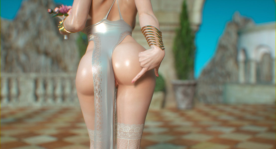Beauty learns to obey - Elf slave 4 Cross Fate by Jared999d