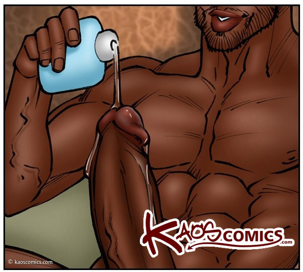 Get them panties off and got down on all fours - Lesson from the neighbor, The third lesson by Kaos comics
