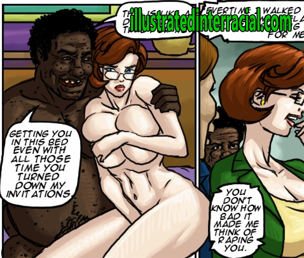 Now show me those tits - Wife pride by Illustrated interracial