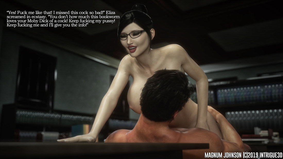 Eliza wanted more of my cock deep inside her - Magnum Johnson by Supro
