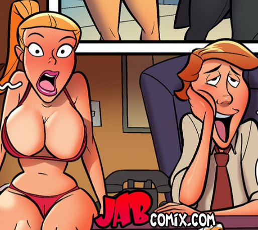 She fucked that guy into submission - The hardon sibs issue 2 by jab comix