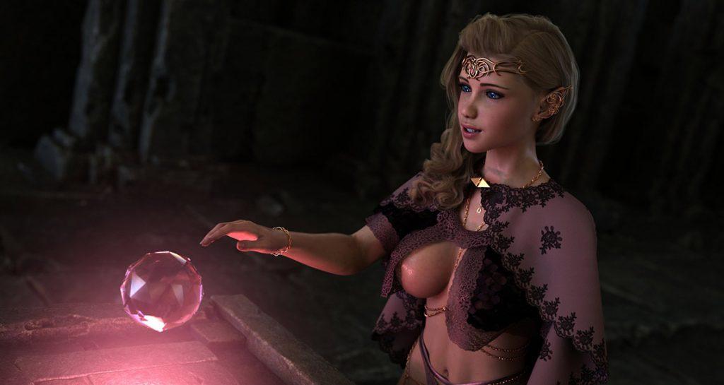 Huge cock demonic creature - Elf's Quest Prequel by Hold
