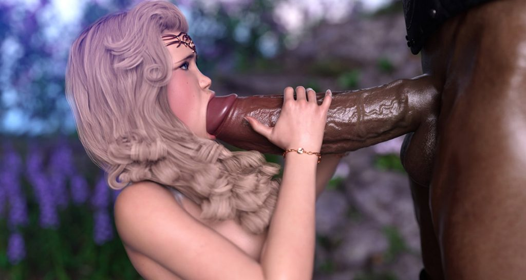 Huge monster cock - Elf's Quest by Hold