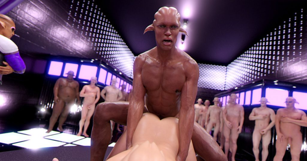 How brutal he is and seems very sexy - First Contact 6 Cognition of a new world by Golden master