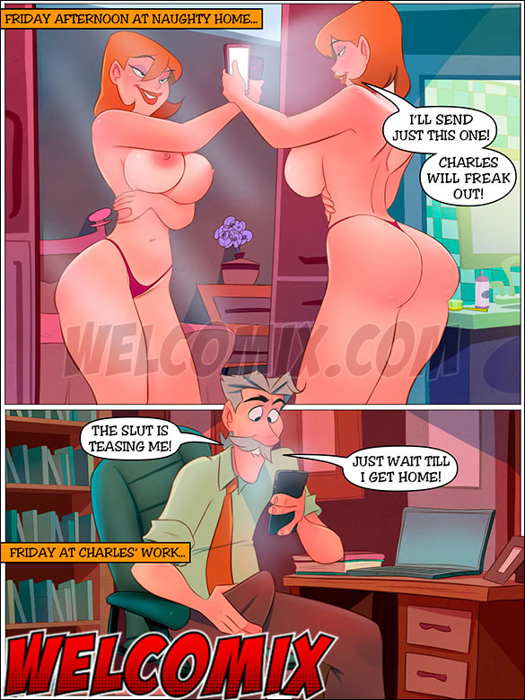 These pictures don't even get my dick hard - The Naughty Home Sending nudes by welcomix (tufos)