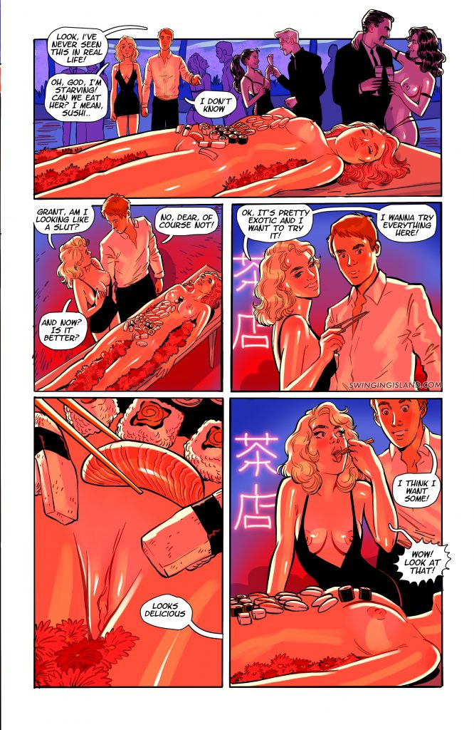 Pleasure Island, Swinging Island part 2 (31-40): I can't wait to jump on your huge cock also