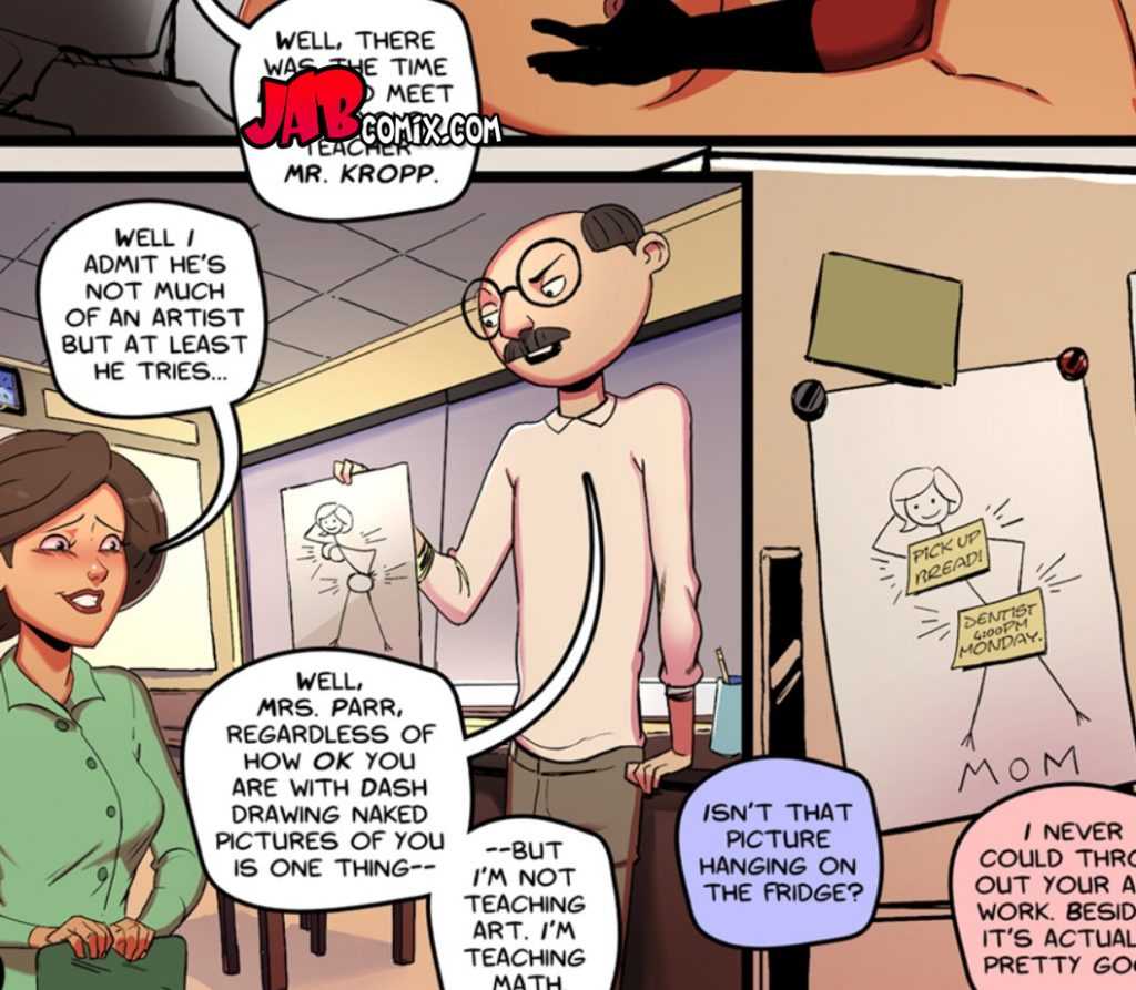 You did seem to really enjoy my pictures - Improbables 2 by jab comix