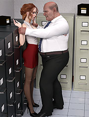 Tessa work: Quick sex in the workplace