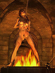 Martyrs: Preparing herself for the first taste of her sadism