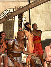 Queen Zenobia – The execution: The humiliation of the Queen's pride
