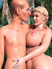 Lost Family 18: Yes, big guy, suck my big breasts