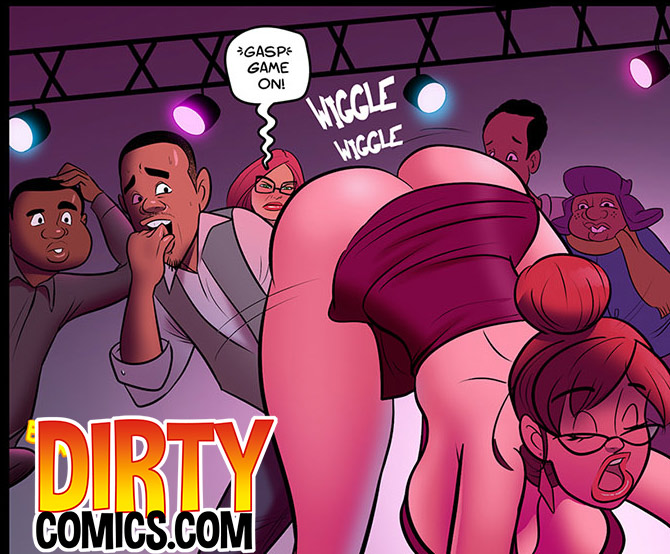 I'm looking for a dress, preferably the sluttiest one you sell - Hot for Ms. Cross by dirty comics