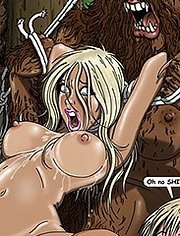 The woods have eyes: Probably all running around naked, smoking dope and having fur burgers by the campfire