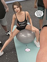 Natasha's workout: We're just watching her for some inspiration